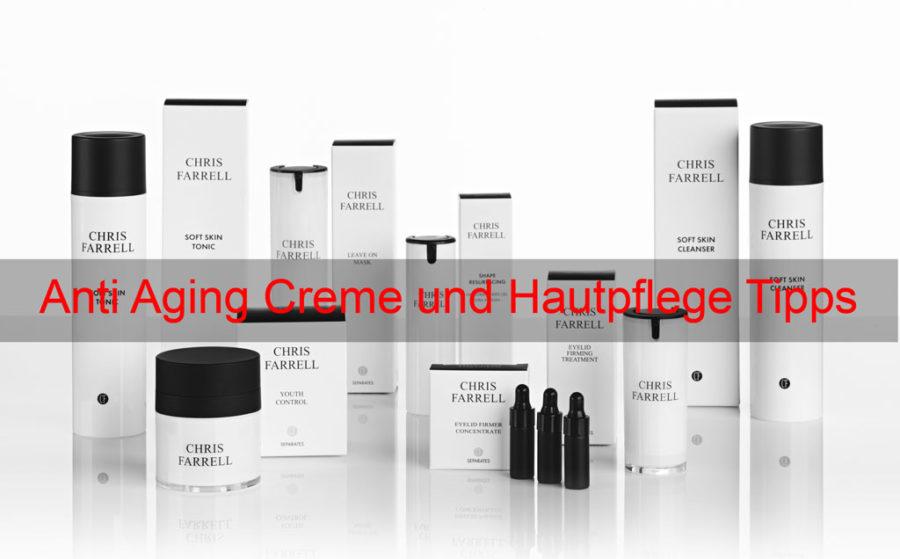 Anti Aging Creme und Hautpflege Tipps