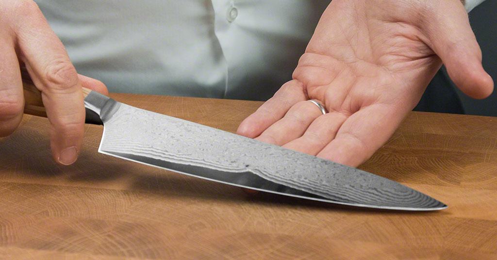 Ein hochwertiges Küchenmesser